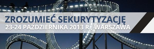 Szkolenie: Zrozumieć sekurytyzację, 23-24 października 2013 r., Warszawa