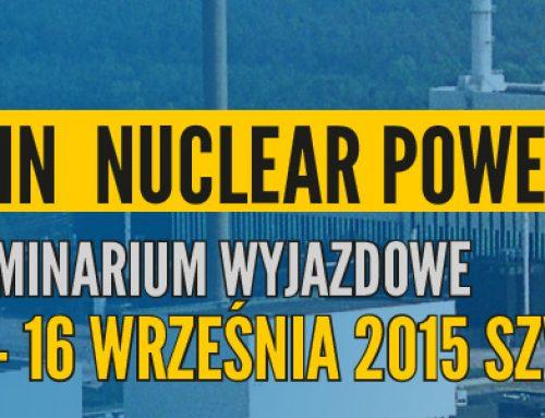 Oskarshamn Nuclear Power Plant -Seminarium wyjazdowe 13- 16.09.2015 Szwecja