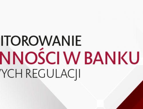 Pomiar i monitorowanie ryzyka płynności w banku w aspekcie nowych regulacji. 8-9.12.2016