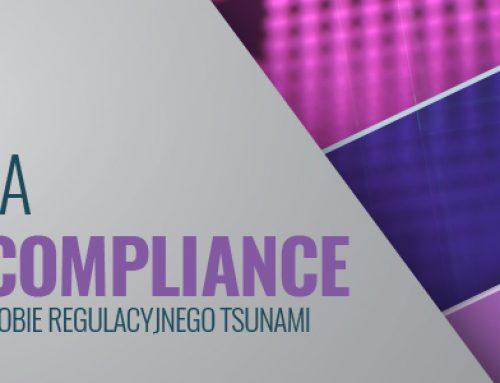 Organizacja komórki compliance w instytucji finansowej w dobie regulacyjnego tsunami – 26.10.2018
