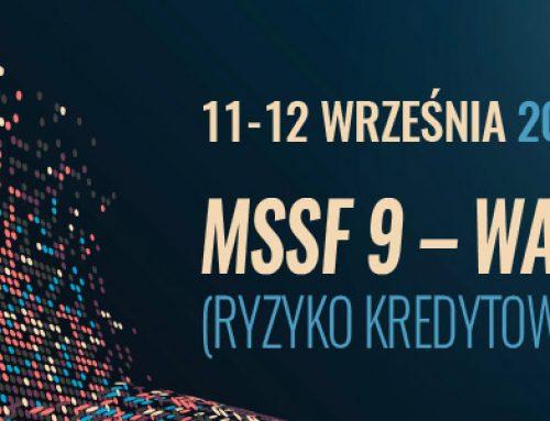 MSSF 9 – warsztaty (ryzyko kredytowe – impairment). 11-12.09.2018