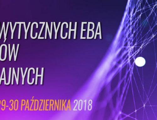 Implementacja wytycznych EBA w zakresie testów warunków skrajnych. 29-30.10.2018