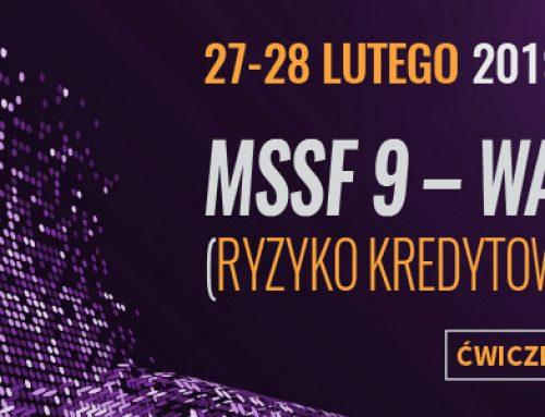 MSSF 9 – warsztaty (ryzyko kredytowe – impairment).  27-28.02.2019