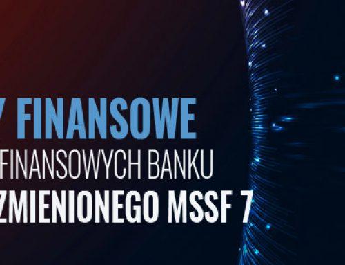 Instrumenty finansowe w sprawozdaniach finansowych banku – wpływ MSSF 9 i zmienionego MSSF 7. 28.03.2019