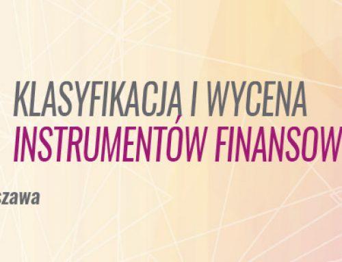 MSSF 9  – klasyfikacja i wycena instrumentów finansowych -21.02.2019