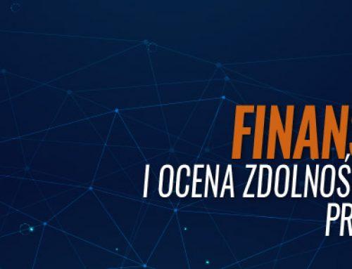 Ryzyko finansowania i zdolność kredytowa przedsiębiorstw – 22.05.2019