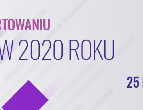 ZMIANY W RAPORTOWANIU FINREP W 2020 ROKU. 25.11.2020