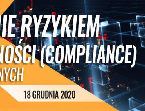 Zarządzanie ryzykiem braku zgodności (compliance) w banku dla zaawansowanych -18.12.2020