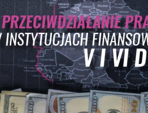 Przeciwdziałanie praniu pieniędzy w instytucjach finansowych w świetle V i VI dyrektywy AML/CFT 20.01.2021
