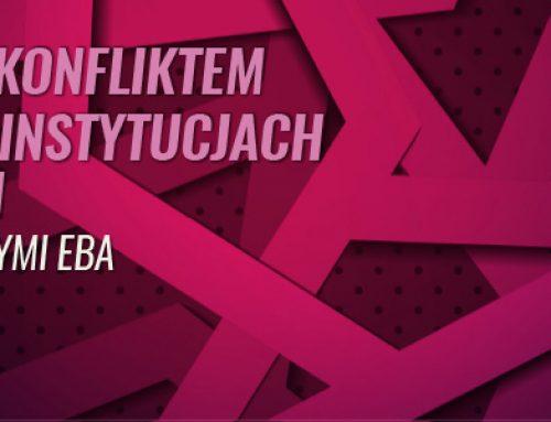 Zarządzanie konfliktem interesów w instytucjach finansowych zgodnie z wytycznymi EBA 1.06.2021