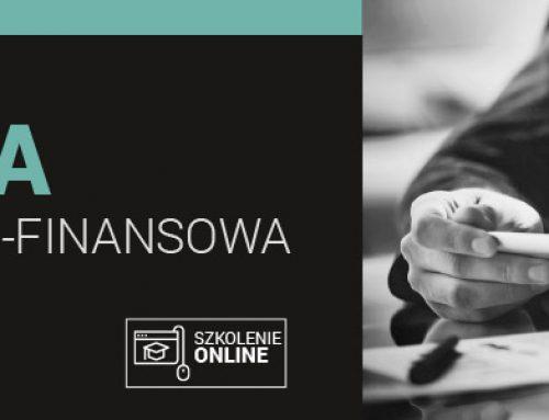 ANALIZA EKONOMICZNO-FINANSOWA 7-8.06.2021