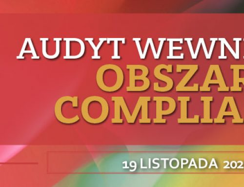 Audyt wewnętrzny Complinace 19.11.2021