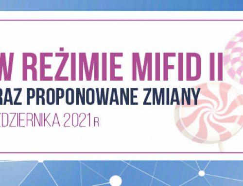 """Zachęty"""" w reżimie MiFID II – obecny model oraz proponowane zmiany 7.10.2021"""